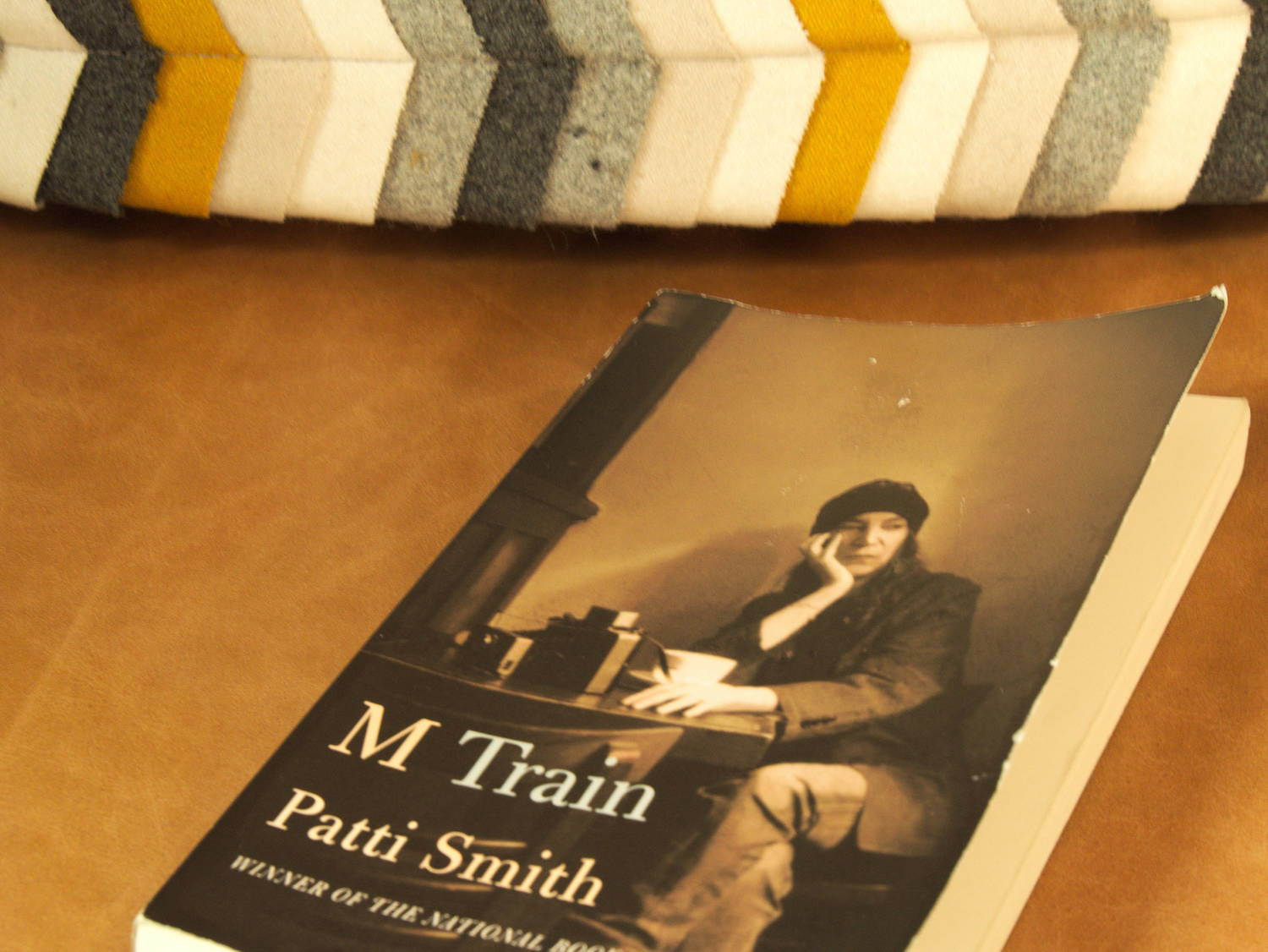 patti smith s m train satu adam in m train i found that smith has captured well the original everyday moments and especially those moments when you feel present and like ldquohomerdquo