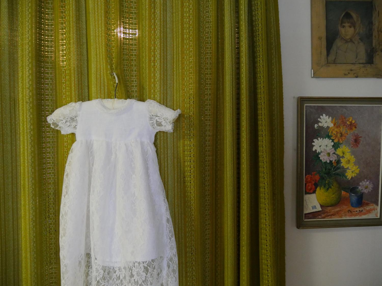 christening gown DIY