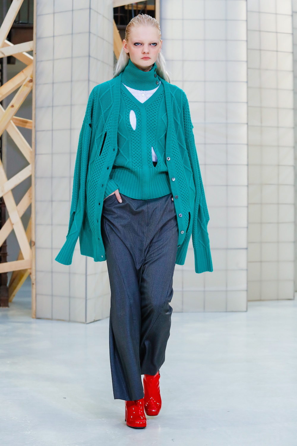 Aalto International Ready-to-Wear Collection Fall Winter 2017 Paris Fashion Week CREDIT: Guillaume Roujas