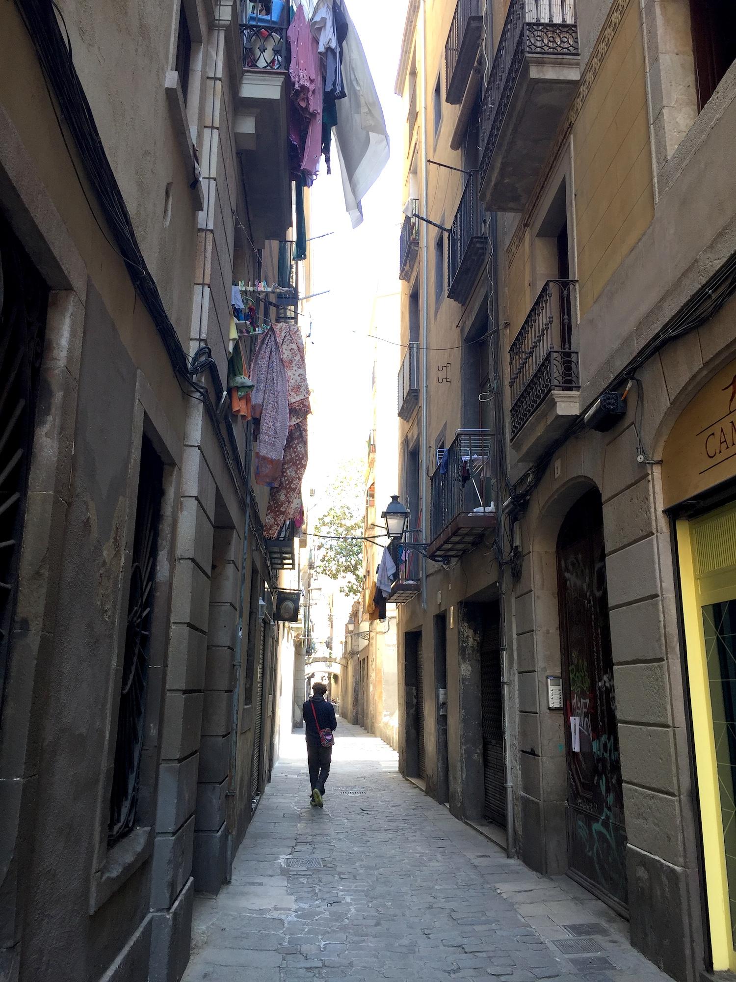 el gotic, barcelona