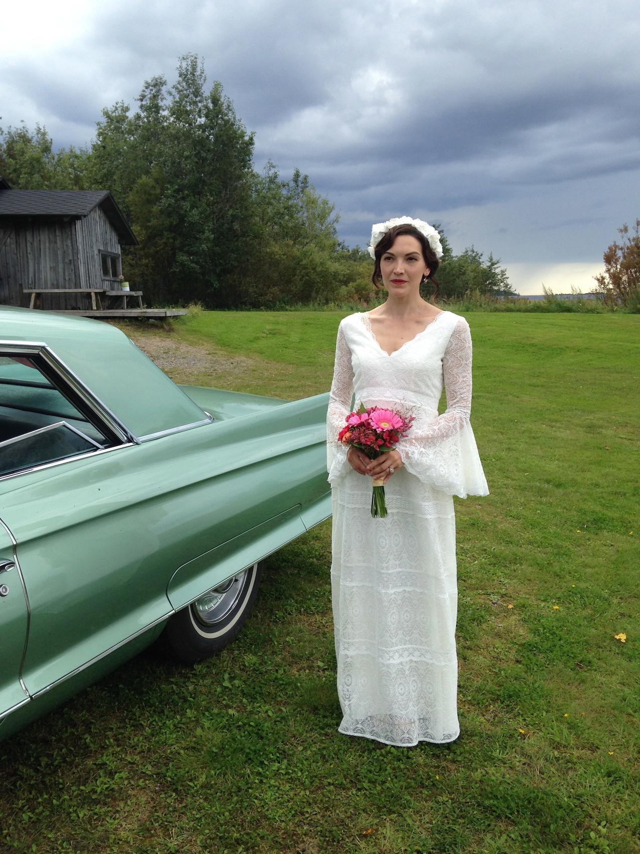 wedding dress by Sofia Ilmonen