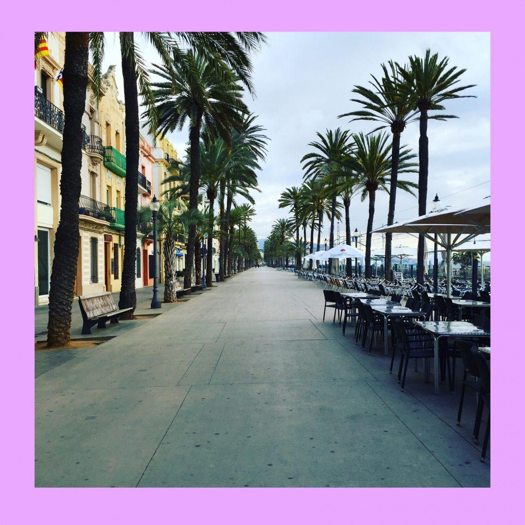 badalona beach boulevard